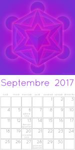 calendrier septembre 2017