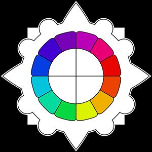 Thème en forme de mandala