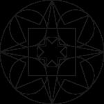 Mandala à colorier n°1