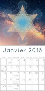 Calendrier des lunaisons en janvier 2018