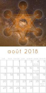 Calendrier des lunaison août 2018