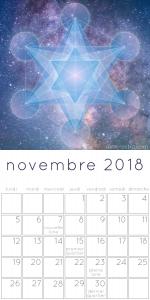 Calendrier des lunaisons novembre 2018
