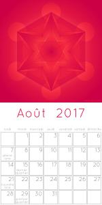 Calendrier août 2017