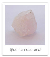 quartz rose brut