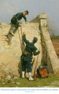 N'écoutant que sa conscience, un soldat refuse d'obéir aux ordres