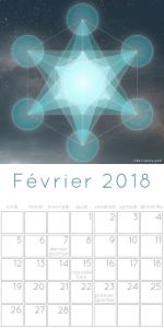 Calendrier Février 2018
