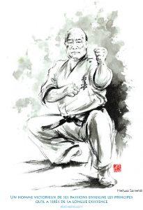 Un homme victorieux de ses passions enseigne les principes qu'il a tirés de sa longue existence