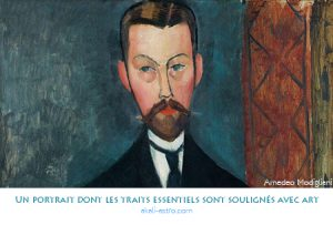 Un portrait dont les traits essentiels sont soulignés avec art