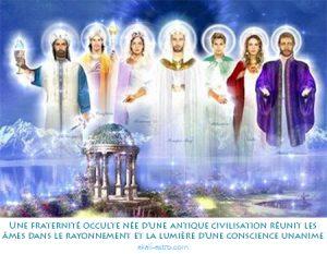 Une fraternité occulte née d'une antique civilisation réunit les âmes dans le rayonnement et la lumière d'une conscience unanime